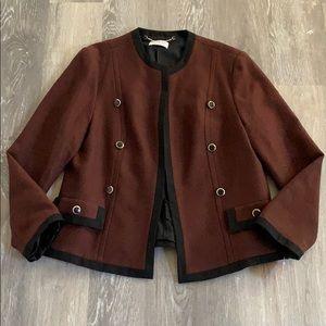 Womens Givenchy En Plus Wool Blazer Jacket sz 16W